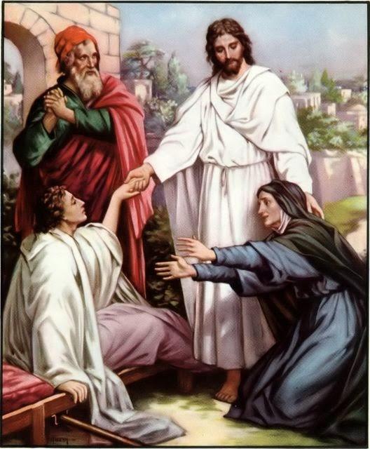 Resultado de imagem para Lucas 7,11-17